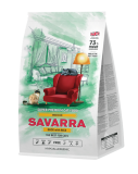 Savarra Adult Cat Indoor сухой корм для кошек живущих в помещении Утка и рис