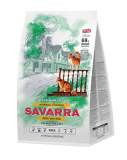 Savarra Adult Cat Hairball Control сухой корм для кошек препятствующим образованию комочков шерсти в желудке Утка и рис