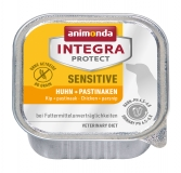 Animonda Integra Protect Dog Sensitive Chicken & Parsnip ветеринарная диета консервы для взрослых собак при пищевой аллергии c Курицей и пастернаком